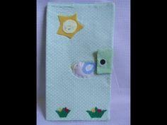 Capa para caderneta de vacinas/Como fazer capa para caderneta de vacinas