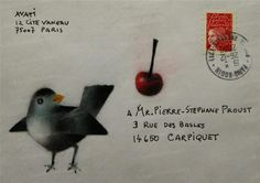 ♥ Postal art for all. ♥ Snail mail art at its best.