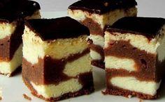 Tvarohový koláč s čokoládovým těstem | NejRecept.cz