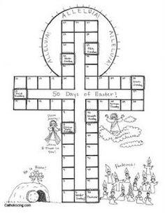 Easter Countdown Liturgical Calendar for Kids