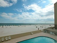 #Vacation close to the action: the 1st floor of Clearwater (unit 1A), and just less than a mile east of the main public beach in Gulf Shores, AL! This flexible 2BR condo offers room for as many as 8 people with its king and twin bedrooms, plus hallway bunks (suitable for children) and a sleeper sofa. Just beyond the outdoor pool you'll find miles of white-sand #beach for walking, shelling, swimming and more. #GulfShores  http://www.meyerre.com/property/Clearwater_1A