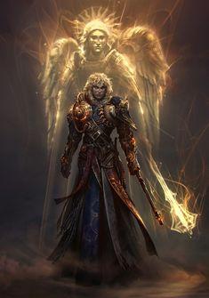 Spass und Spiele — Helion the Sunveil Paladin – fantasy character...