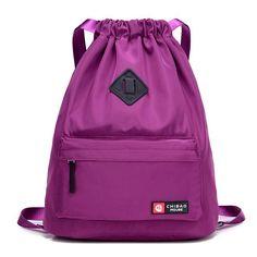 c68d72969 Sports gym bag Drawstring Bag Festival Backpack Nylon for Gym Sports  Fitness Travel Yoga Women Girls Student Bag Travel Backpack KO_5_1