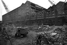 Demolition of Tilbury & Southend Warehouse, Aldgate - Tony Bock 1978