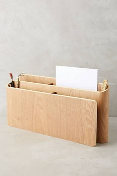 Uprising Wood Organizer