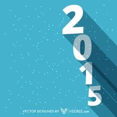 Vector Happy New Year 2015 Design