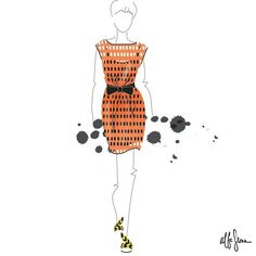 alba_sernap Moschino illustration @moschino