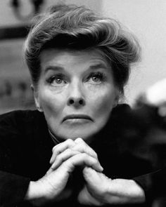 Katharine Hepburn - I don't think she needs a description.  She wore the pants! A force of nature if there ever was one and she conquered her world with determination and guts