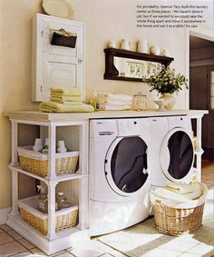 Laundry Room from Do it yourself http://www.diyideas.com/