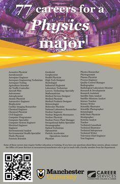 PHYSICS: 77 careers for a Physics Major ::: ASU-BEEBE ::: www.ASUB.edu ::: @ASUBeebe ::: #ASUBeebe ::: #ProudToBeBlue