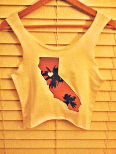 Cali Love Crop Top by TheLotusPetals on Etsy, $20.00