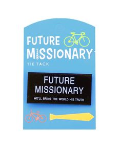 Get set to serve with this fun collection of items for future missionaries. The real metal badges are sure to be a hit. With stickers, pencils, bookmarks, and more, you'll find something for everyone! So don't wait for the call to come....