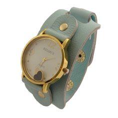 Relógio Bracelete Azul.  www.relogiosdadora.com.br