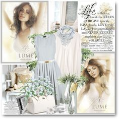 Always the dreamer, created by mizrose on Polyvore - Gorgeous!