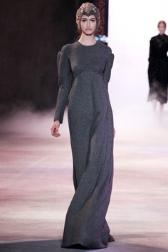 Ulyana Sergeenko | Fall 2013 Couture Collection (w/ regular long sleeves...GORGEOUS)