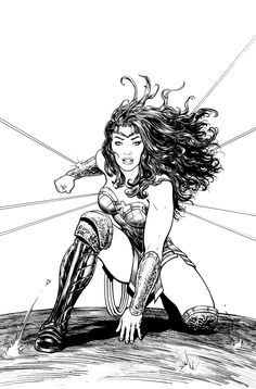 Wonder Woman Rebirth, The Truth issue 21 cover Comic Art