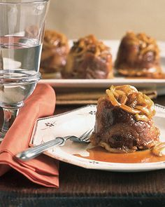 Caramel-Apple Bread Pudding