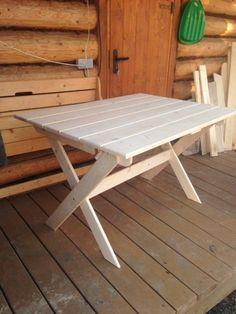 Складные столы своими руками с чертежами — Сделай сам, идеи для творчества - DIY Ideas