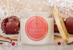 Apple Cinnamon Vanilla Candle Toasted Marshmallow, Christmas Items, Cinnamon Apples, Vanilla, Fragrance, Candles, Tableware, Gifts, Gift Ideas