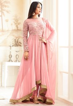 Looking to buy Anarkali online? ✓ Buy the latest designer Anarkali suits at Lashkaraa, with a variety of long Anarkali suits, party wear & Anarkali dresses! Anarkali Dress, Anarkali Suits, Punjabi Suits, Lehenga Blouse, Lehenga Choli, Designer Suits Online, Designer Dresses, Designer Clothing, Indian Dresses