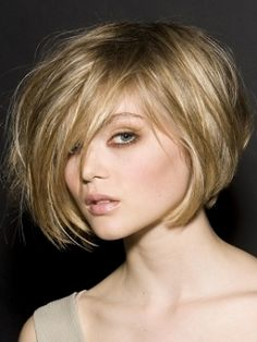 Love this bob...and the sandy blonde hue