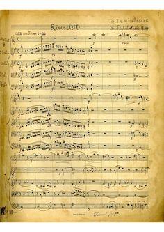 Quinteto para clarinete y cuerda Op.44 do compositor e violinista alemán Thomas Täglichsbeck. Foi publicada en Trautwein (Berlín) en 1863.
