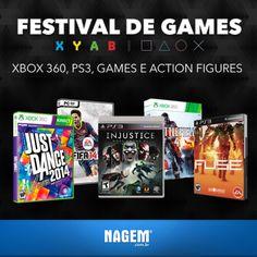 Tem gamer por aqui? Estamos cheios de ofertas para você! São games para PC, Xbox e PS3 com descontos incríveis para garantir sua diversão nesse finalzinho de férias.