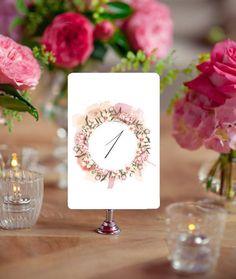 Romantic Wedding Invitation Set / Partecipazioni Matrimonio / Romantic - Floral Style / Printable Wedding Invitation