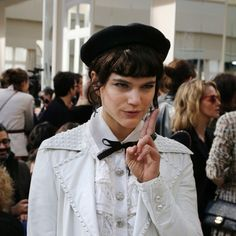 French Actress and <b>Singer</b> <b>Soko</b> Talks Chanel Front Row | W Magazine