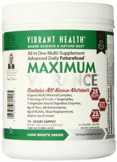 Vibrant Health Maximum Vibrance Digestive Supplement