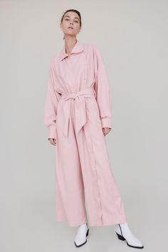 0a5ad135fc0b Baserange Aorta Jumpsuit in Lumbar Pink Pink Jumpsuit