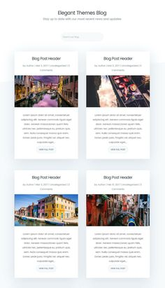 How to Style Your Divi Blog Page to Look Like Elegant Themes New Design