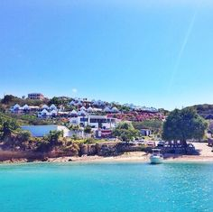 Ce' Blue Villas & Beach Resort, a luxury boutique hotel at picturesque Crocus Hill in Anguilla Beach Resorts, Lodges, Villas, Places To Go, River, Island, Boutique, Luxury, Blue
