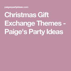 christmas gift exchange themes page 10 of 10