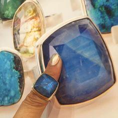 Double trouble #Jamiejosephjewelry #nynow #handmade #everydayjewelry #JJPowerRing