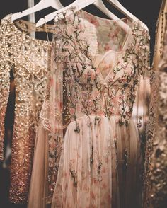 Embroidered Patricia Bonaldi gowns