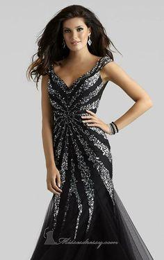 ad877d571d07 10 nejlepších obrázků z nástěnky Společenské šaty - černá