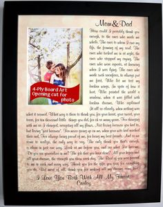 21 best parent wedding gift ideas images on Pinterest | Wedding ...