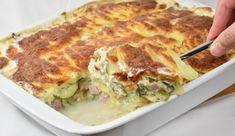 Kartoffelgratin med hamburgerryg - Dagens tallerken Cooking Cookies, Food Inspiration, Quiche, Tart, Brunch, Food And Drink, Yummy Food, Dinner, Breakfast
