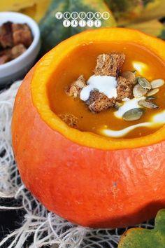 Zupa krem z pieczonej dyni i pomarańczy Fruit, Food, Essen, Meals, Yemek, Eten