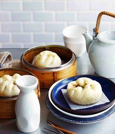 CHAR SIU BAO (barbecue pork bun) ~~~ i shared my bookmarked top ultimate yummy char siu recipes choices on a pin at http://www.pinterest.com/pin/239816748882210048/ [China] [gourmettraveler] [char siu, chashu, chasu, cha siu, cha shao, char siew]