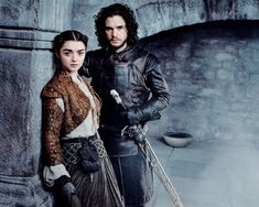 I only wanted an Arya and Jon reunion): WHY? Arya have to go to Nigth's watchs and kim them all!