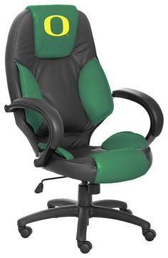 Oregon Ducks Executive Chair. he would love this in his office!
