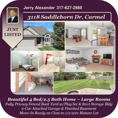 Just listed! Freshly painted and definitely move-in ready. Call Jerry today before it's gone!