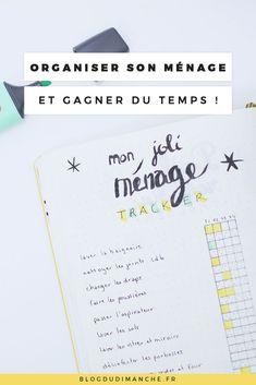 Comment j'organise mes tâches ménagères pour gagner en efficacité ! ⋆ Blog du Dimanche