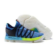 huge selection of 7eb17 12547 Latest Nike Zoom KD 10 EP Basketball Shoes Blue Black Kevin Durant, Nike  Zoom,