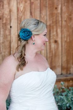 Turquoise Bridal Hai