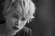 Michelle Williams & Cara Delevingne by Peter Lindbergh | Highsnobiety
