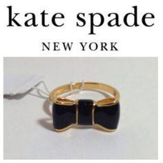 7c954956d6 BRAND NEW Kate Spade Bow Ring FREE LISTIA Fashion Tattoos