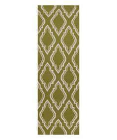 Loving this Olive Fallon Wool Runner on #zulily! #zulilyfinds